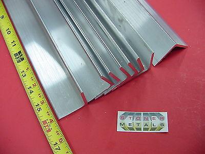 8 Pieces 1-12x 1-12x 18 Aluminum 6061 Angle Bar 16 Long T6 Mill Stock