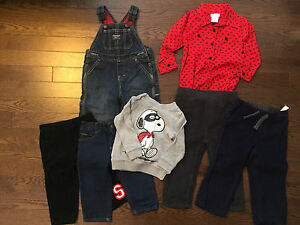 Size 12-18M Baby Boy Clothing Bundle