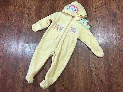 Sesame Street Beginnings Baby Zoe Sleeper Halloween Costume w/ Hood Choose Size](Sesame Street Baby Halloween Costumes)