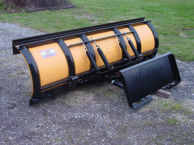 Skid Steer Tractor Quick Attach Snow Plow 8.5 Meyer Poly Plow