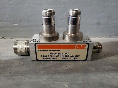 Amplifier Research Ar Rf Coupler 400w Dc7144a