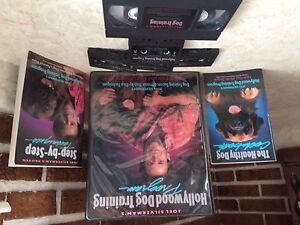 Dog Training VHS Tape & 4 Cassettes & Two Books NEW
