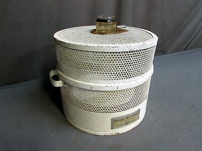 Fisher Pyrex 9.5 Id Vacuum Dessicator With Metal Guard Shield
