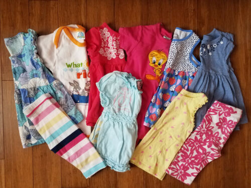 Baby Girl Spring Summer Clothes Tops Leggings Size 18 Months