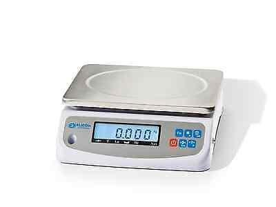 ELICOM PK  GEEICHT,  3/6 kg, Teewaage, Kaffeewaage, Imkerwaage, Honigwaage,