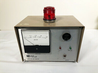 Ludlum 300 Geiger Counter Rate Meter With Adjustable Alarm