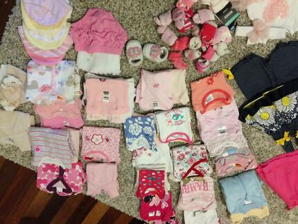 Baby girl's clothes size 0000 Victoria Point Redland Area Preview