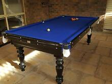 Immaculate fully restored 8ft billiard table Golden Grove Tea Tree Gully Area Preview