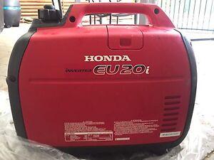 Next to new - Honda EU20i Generator Inverter Brinsmead Cairns City Preview