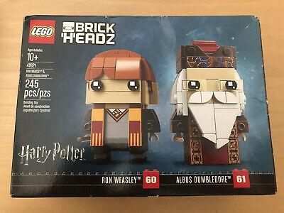 Lego BrickHeadz Set 41621 Ron Weasley Professor Albus Dumbledore Harry Potter