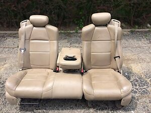 1997-2003 f150 lariat leather bench seat