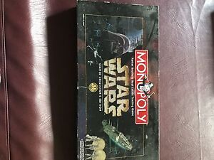 Star Wars monopoly, Risk, Game of Life