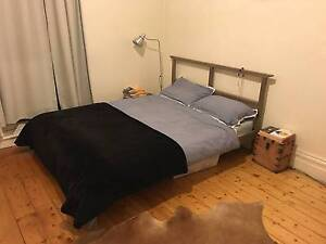 Queen size bed frame and mattress Northcote Darebin Area Preview