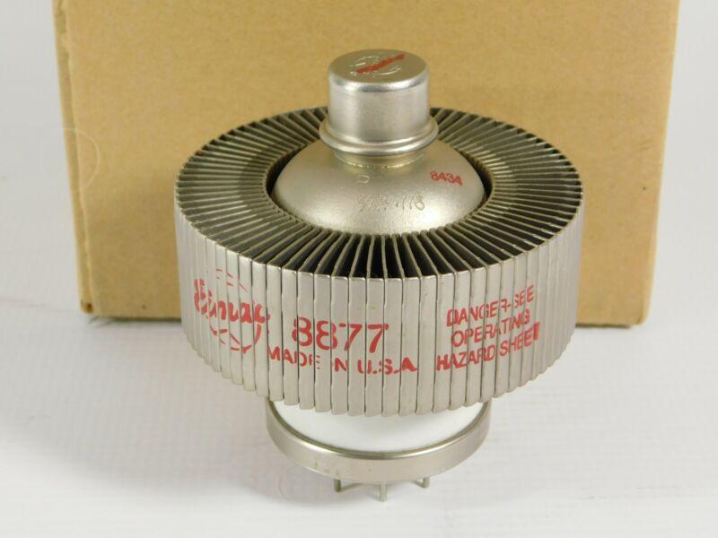 Eimac 8877 3CX1500A7 Transmitting Tube w/ Box (tests about 60%)