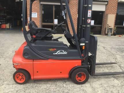 Forklift Linde E18P 2006 1.8t 6.2m H Side Shift Excellent Battery
