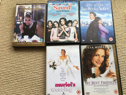 DVDs for sale . 5 for $15