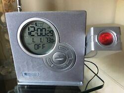 Oregon Scientific RRM968PA ExactSet Atomic Projection Alarm Clock Radio