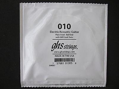 GHS Cuerda de Guitarra Eléctrica 010