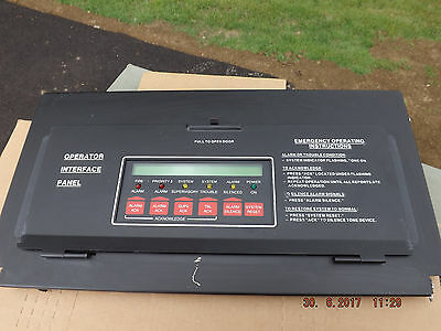 Simplex 4100-8001 Annunciator Display Panel 841-731 And The Only One On Ebay