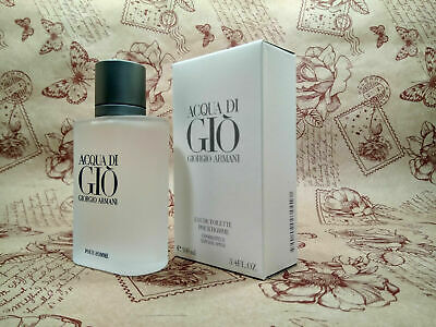 Georgio Armani Acqua Di Gio Pour Homme Edt Men 3.4oz/100ml *NEW* SEALED