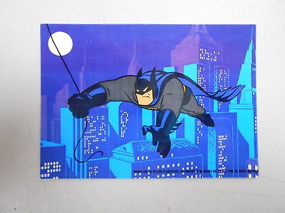 1993 Topps Batman: The Animated Series cel card! NM/MN and very uncommon! LOOK!