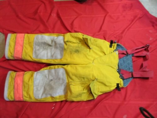 Globe GX-7  38 x 30 Firefighter Turnout bunker Pants gear  SUSPENDERS
