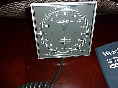 Welch Allyn Tycos Wall Mount Blood Pressure Cuff. Adult Size 11 7670-01