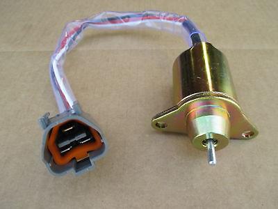 Fuel Shutoff Solenoid For John Deere Jd Relay 4710 50d Excavator 50zts 790