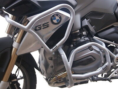Paramotore HEED BMW R 1200 GS 2013-2016 - Full Bunker Classic argento + Borse usato  Spedire a Italy
