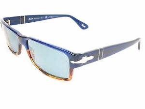 Persol PO 2747 955/4N Havana Blue Photochromatic Polarized Sunglasses 2747S