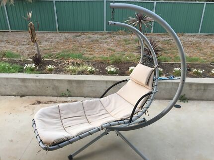 hanging egg chair lounging relaxing furniture gumtree
