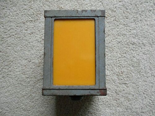 Vintage Albert 4-Way Darkroom Safe Light