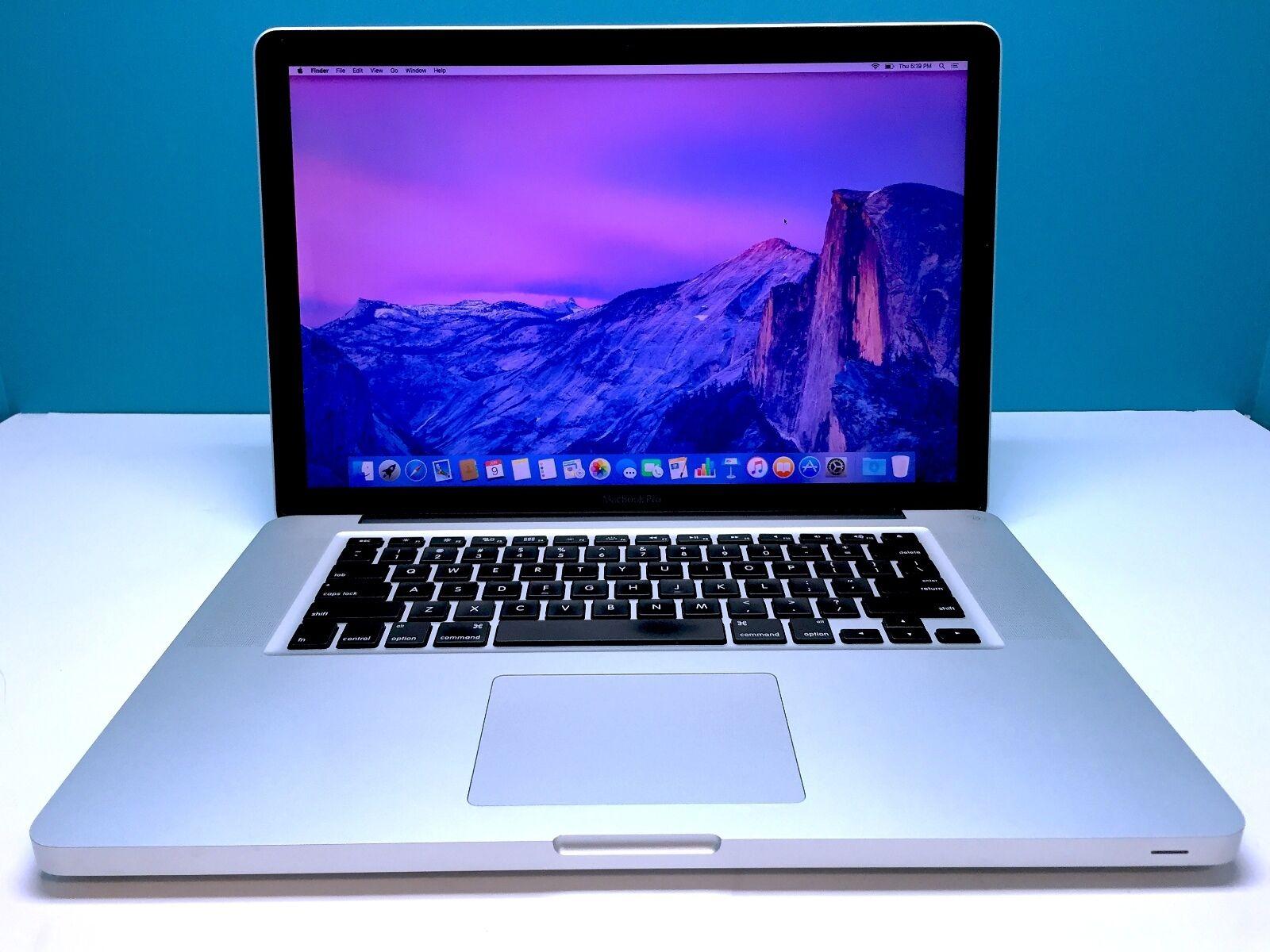 15 macbook pro apple laptop core i5 2 4ghz 8gb 1tb. Black Bedroom Furniture Sets. Home Design Ideas