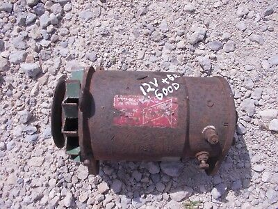 Farmall 560 460 Tractor Good Working 12v Generator Belt Pulley