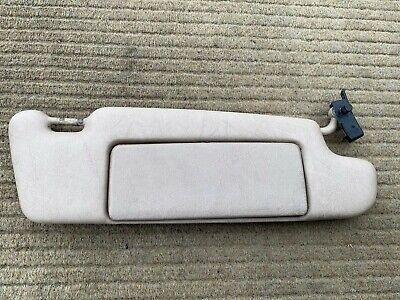 Mercedes SL R129 Interior Sun Visor Right Cream Creme Beige, used for sale  Shipping to Ireland