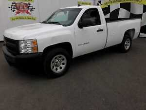 2013 Chevrolet Silverado 1500 WT, Regular Cab, Long Box, Power G