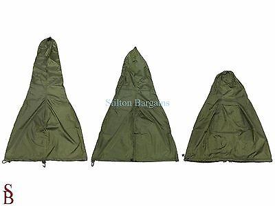 (Green Chiminea Cover - BNIP - Garden Chimnea heater cover - 29cm diam 133circum)