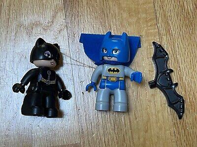 Lego Duplo Batcave Adventure 10545 Catwoman & Batman 100% Complete Free Shipping