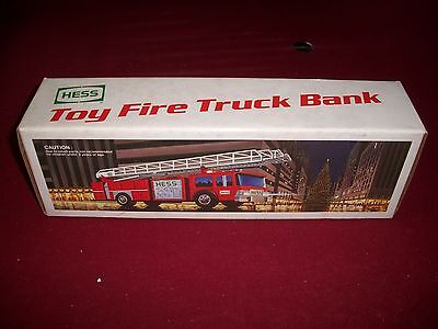 1986 HESS TOY FIRE TRUCK  M.I.B.
