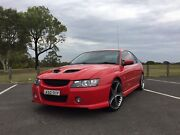 2004 Red Holden Commodore VZ  SV6 Georges Hall Bankstown Area Preview