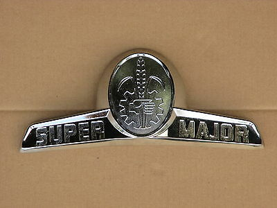 Fordson Metal Badge Emblem For Ford Super Major