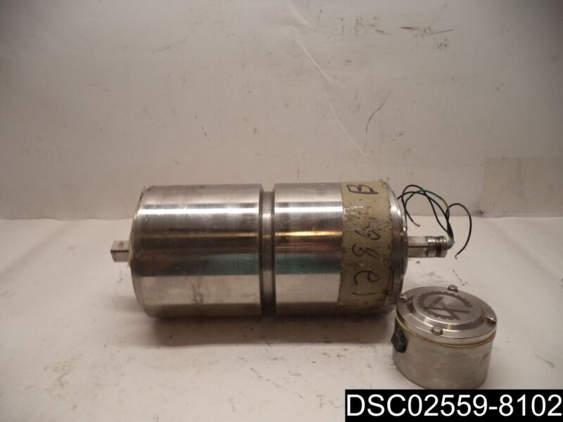 VAN DER GRAAF TM150A25-475 0.75 HP 460V-AC 3PH STAINLESS DRUM MOTOR R50156676