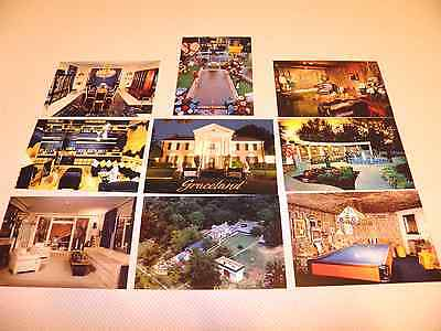 Ultimate Lot of 9 Postcards, Graceland Home of Elvis Presley, Memphis Tennessee  comprar usado  Enviando para Brazil