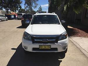 2009 Ford Ranger Ute WildTrak Kings Park Blacktown Area Preview
