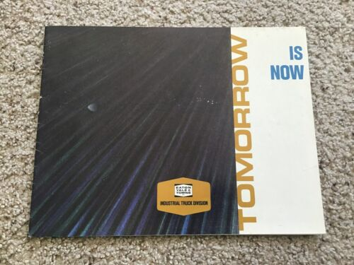 1970s Eaton Yale Towne, Industrial trucks, sales catalogue.