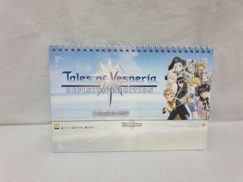 Tales of vesperia sony xbox nintendo merchandising pegatinas y postales no game