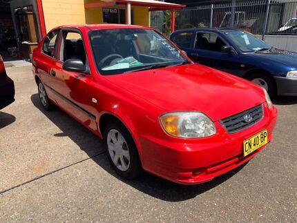 2003 Hyundai Accent 3 Door Hatchback Salamander Bay Port Stephens Area Preview
