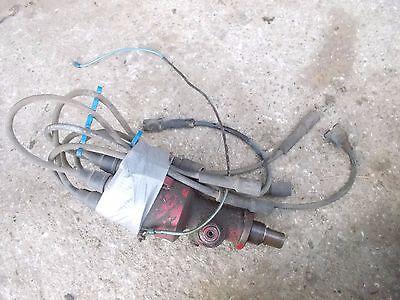 Farmall Ih 560 Tractor Engine Motor Distributor Tachometer Drive W Plug Wires