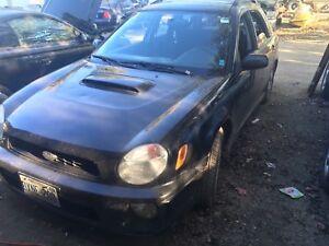 02 Subaru WRX- AWD with blow off valve