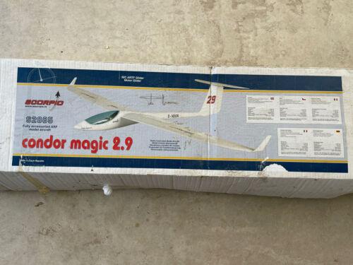 Scorpio Condor Magic 2.9 RC Glider 2750mm Span